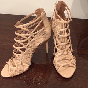 ALDO eryde heels nude sz 7.5